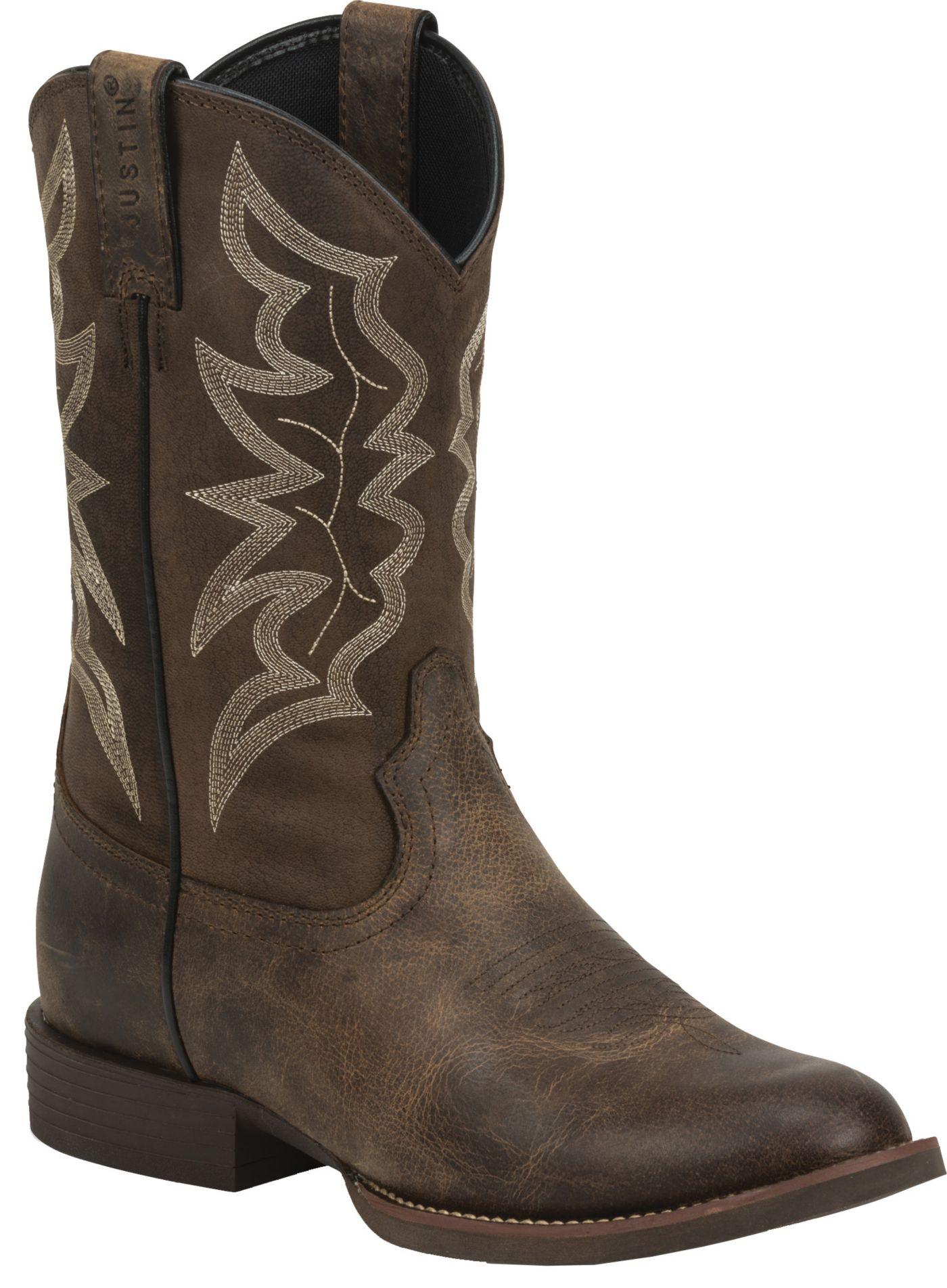 Justin Men's Buster Distressed Western Boots