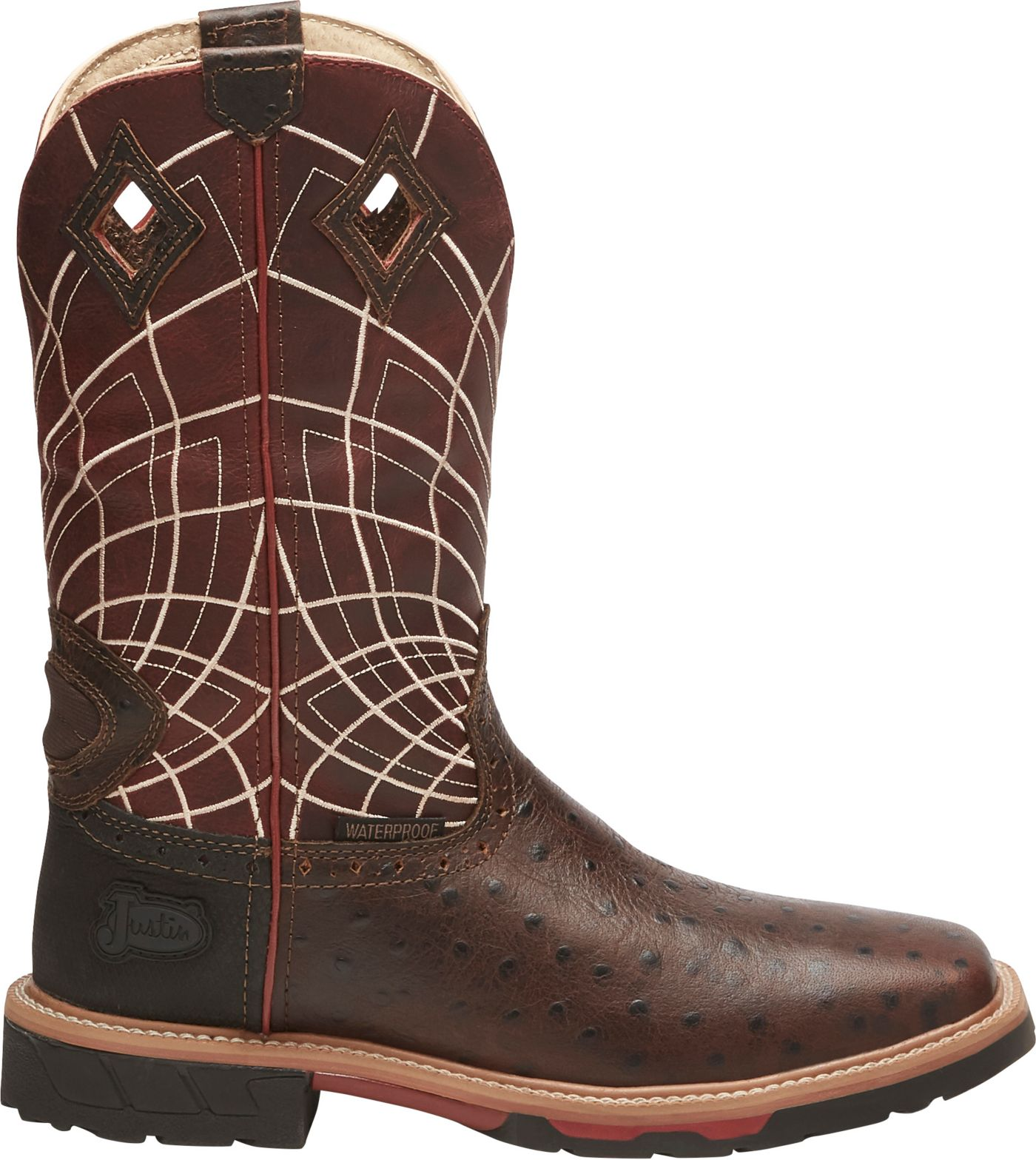 Justin Men's Derrickman Western Work Boots