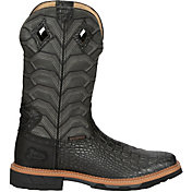 Justin Men's Derrickman Waterproof Western Work Boots