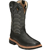 Justin Men's Derrickman Waterproof Composite Toe Western Work Boots