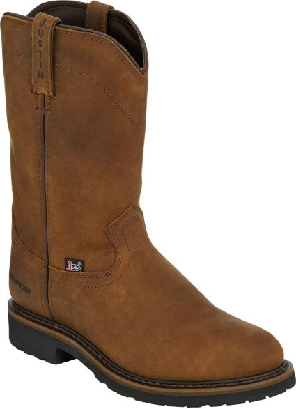 ce1ea069849 Justin Men's Drywall Pull-On EH Work Boots