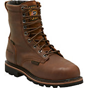 Justin Men's Pulley MetGuard Composite Toe EH Work Boots