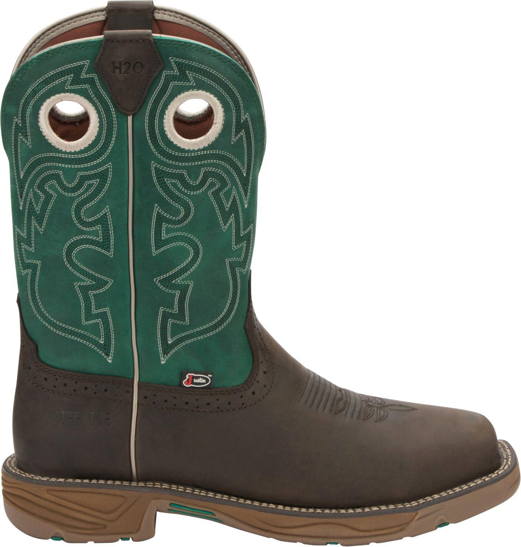Justin Men's Stampede Rush Western Work Boots