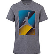 Jordan Boys' Air Colorblock Box Logo Graphic T-Shirt