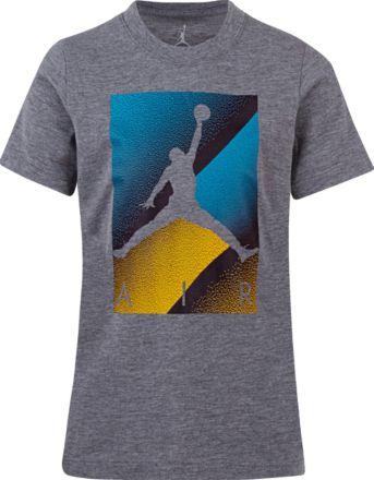 992b3a04 Jordan Boys' Air Colorblock Box Logo Graphic T-Shirt