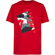 Jordan Boys' Color Camouflage Logo Graphic T-Shirt