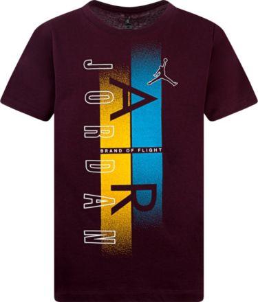 e4646412de61 Black. Jordan Boys' Airbrush Logo Graphic T-Shirt