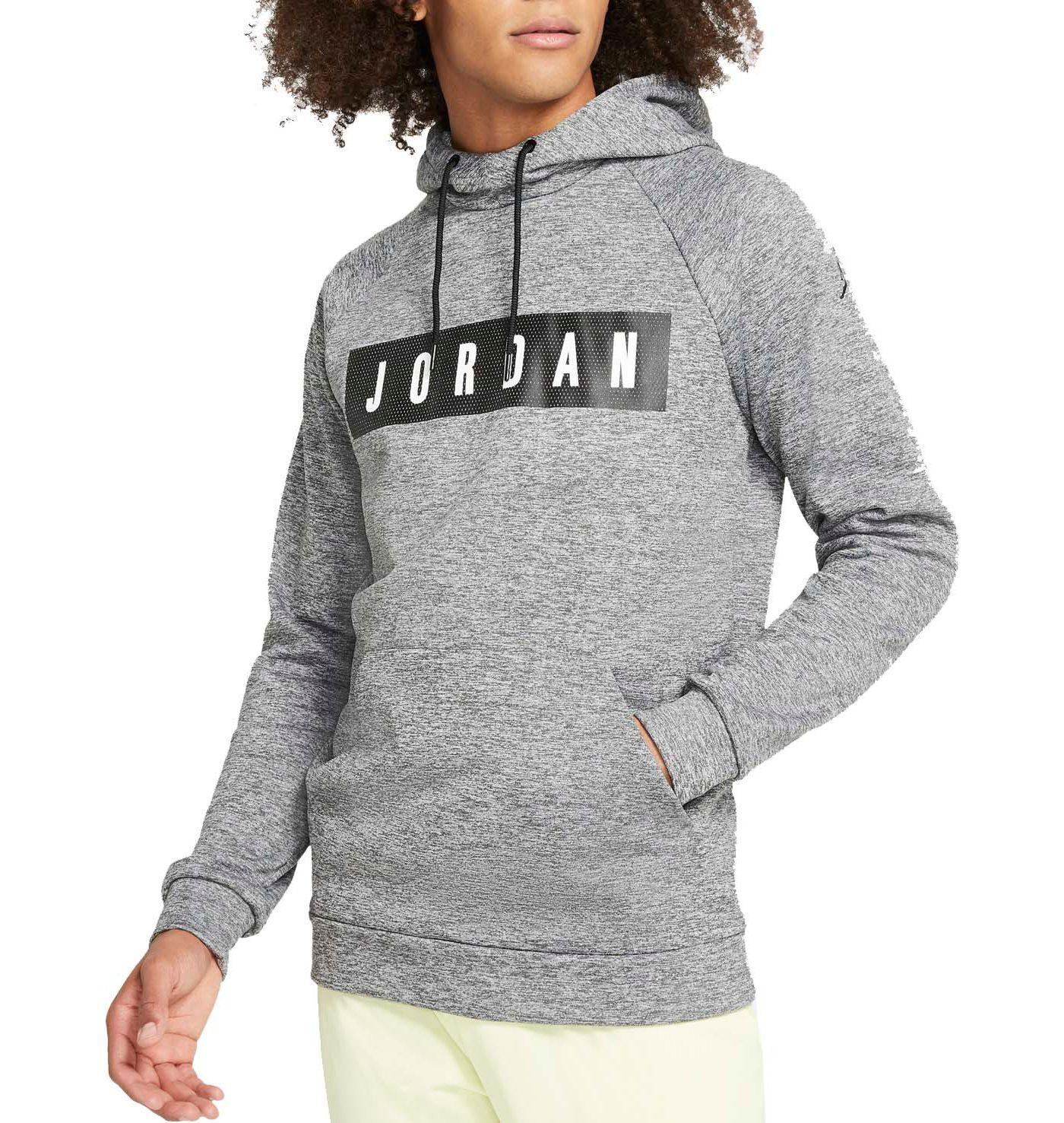 Jordan Men's 23 Alpha Therma Fleece Pullover Basketball Hoodie