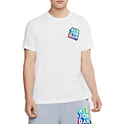 Nike Jordan Men's Sticker Short Sleeve T-Shirt