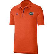 Jordan Men's Florida Gators Orange Sideline Performance Polo