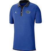 Jordan Men's Florida Gators Blue Team Football Sideline Polo