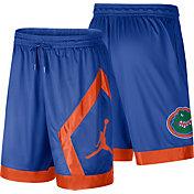 Jordan Men's Florida Gators Blue Dri-FIT Knit Shorts