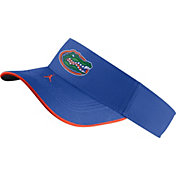 Jordan Men's Florida Gators Blue Aero Football Sideline Visor