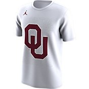 Jordan Men's Oklahoma Sooners Bench White T-Shirt
