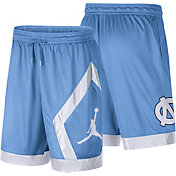 Jordan Men's North Carolina Tar Heels Carolina Blue Dri-FIT Knit Shorts
