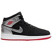 Jordan Kids' Grade School Jordan 1 Mid Basketball Shoes