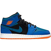 Jordan Kids' Grade School Jordan 1 Mid Basketball Shoes