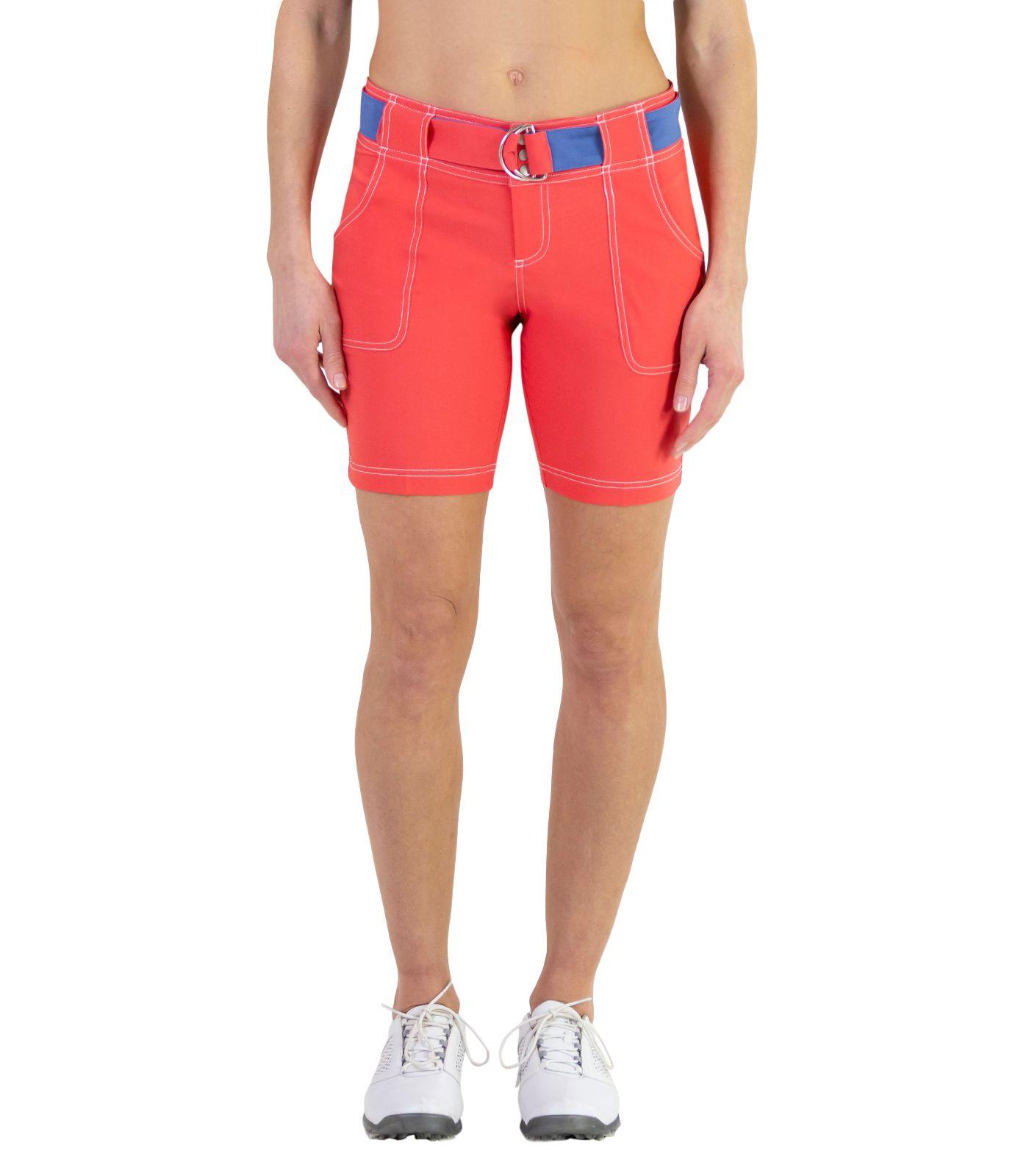 Jofit Women's Belted Golf Shorts
