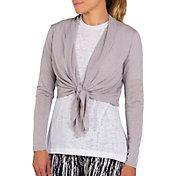 Jofit Women's Cropped Long Sleeve Golf Cardigan