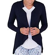 Jofit Women's Anchor Long Sleeve Golf Cardigan