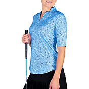 Jofit Women's Anchor Collar ½ Sleeve Golf Top