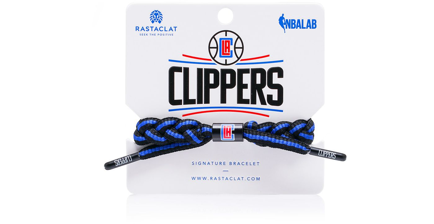 Rastaclat Los Angeles Clippers Home Braided Bracelet