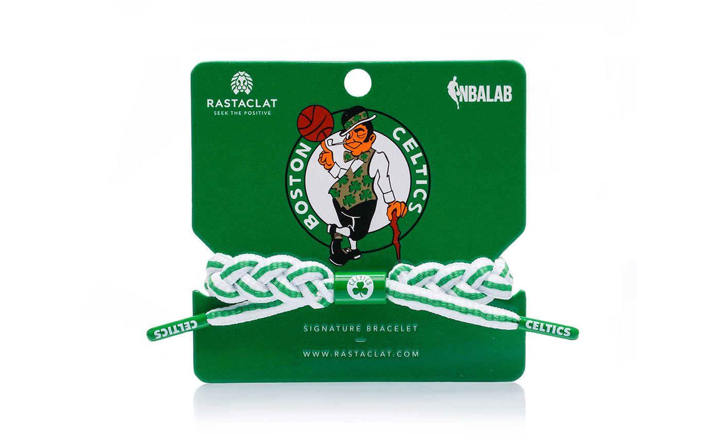 Rastaclat Boston Celtics Home Braided Bracelet