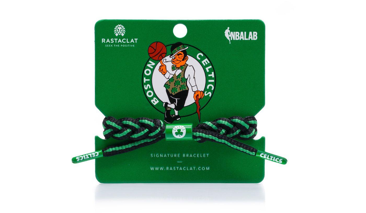 Rastaclat Boston Celtics Away Braided Bracelet
