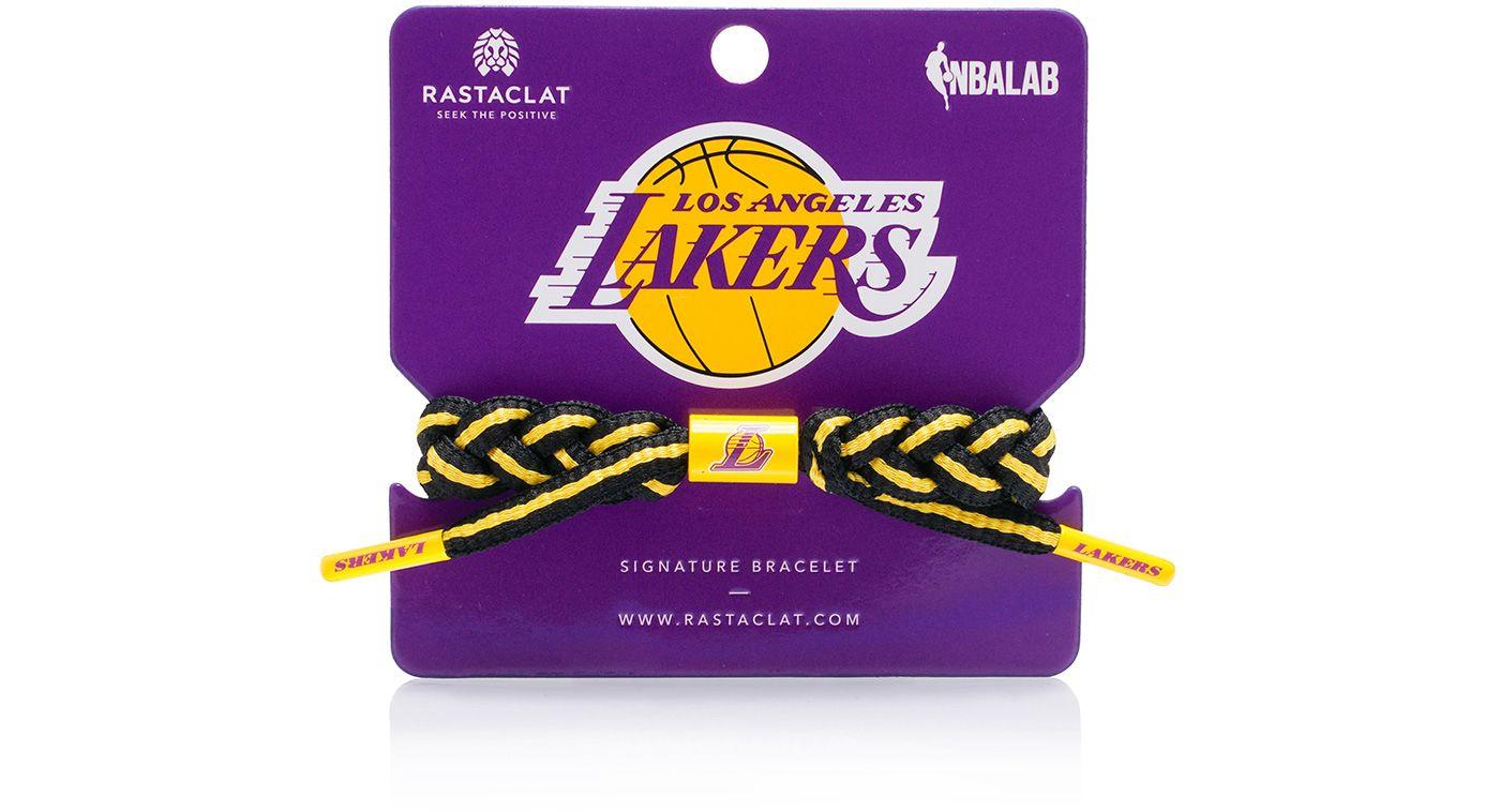 Rastaclat Los Angeles Lakers Home Braided Bracelet