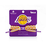 Rastaclat Los Angeles Lakers Away Braided Bracelet