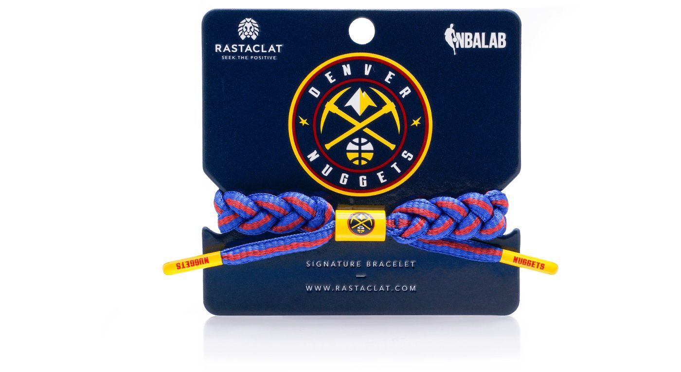 Rastaclat Denver Nuggets Home Braided Bracelet