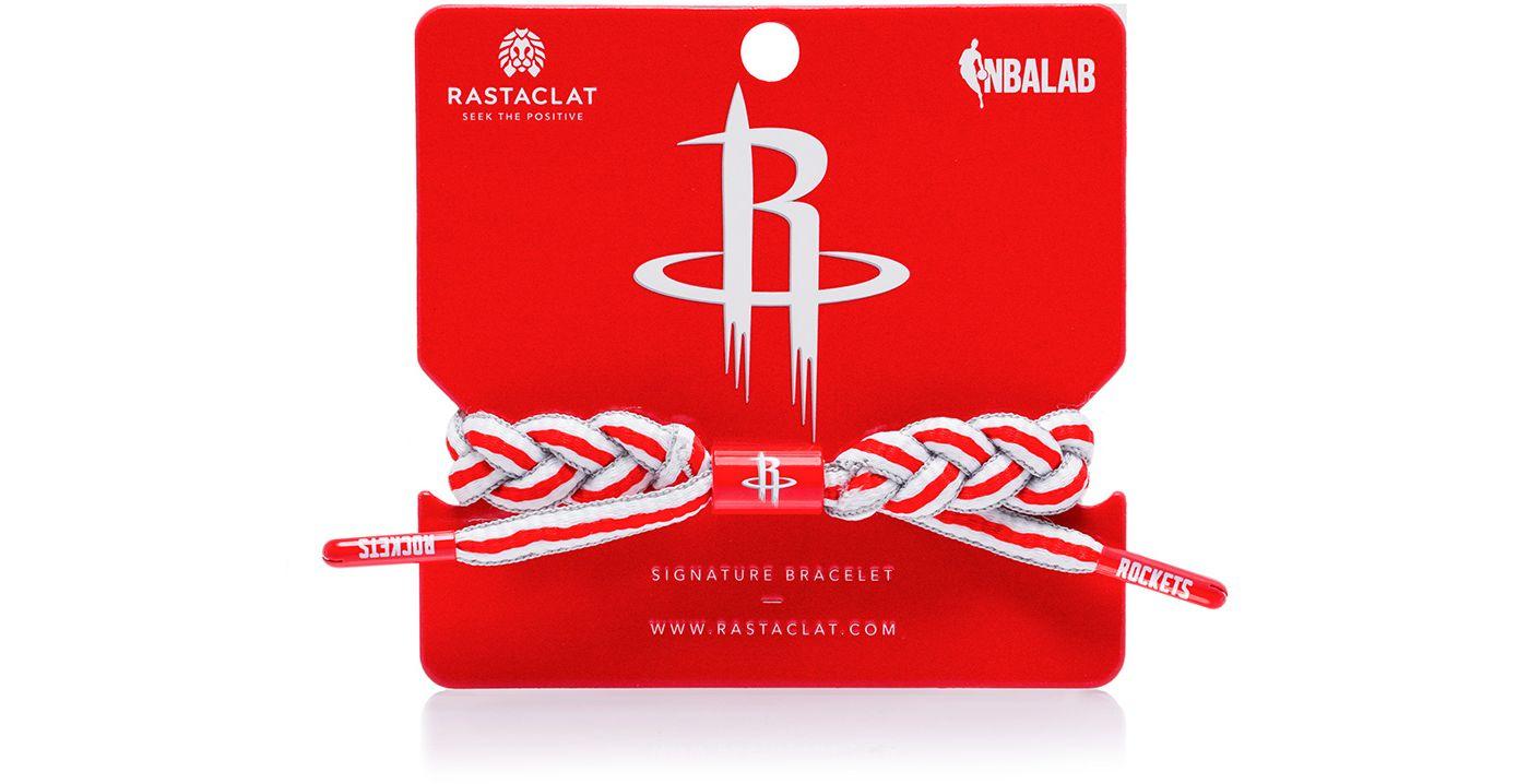 Rastaclat Houston Rockets Home Braided Bracelet