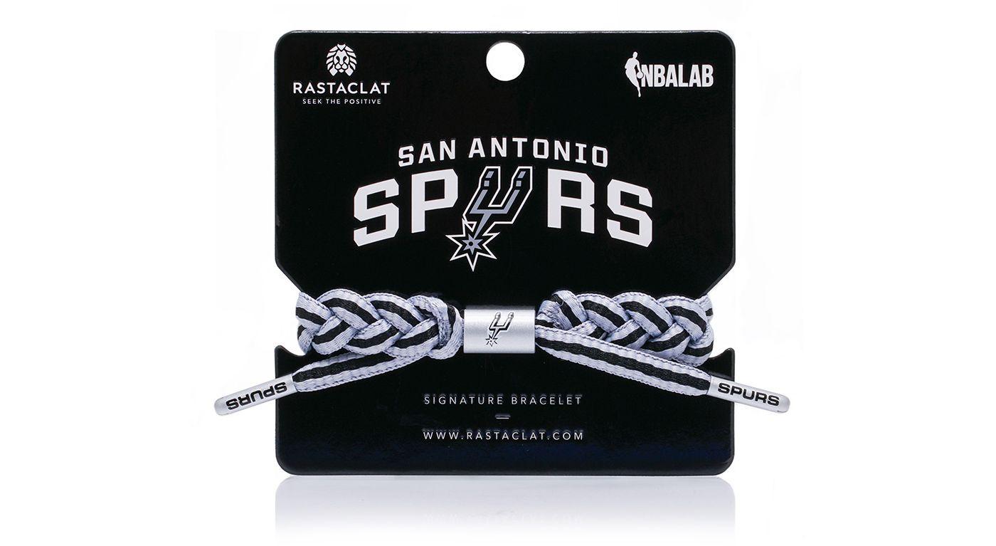 Rastaclat San Antonio Spurs Home Braided Bracelet