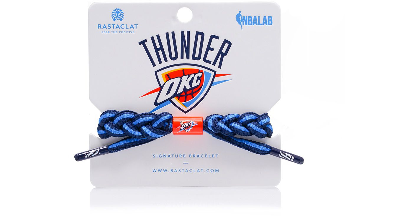 Rastaclat Oklahoma City Thunder Home Braided Bracelet