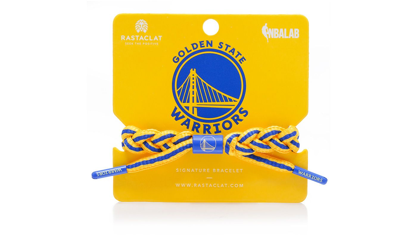 Rastaclat Golden State Warriors Home Braided Bracelet