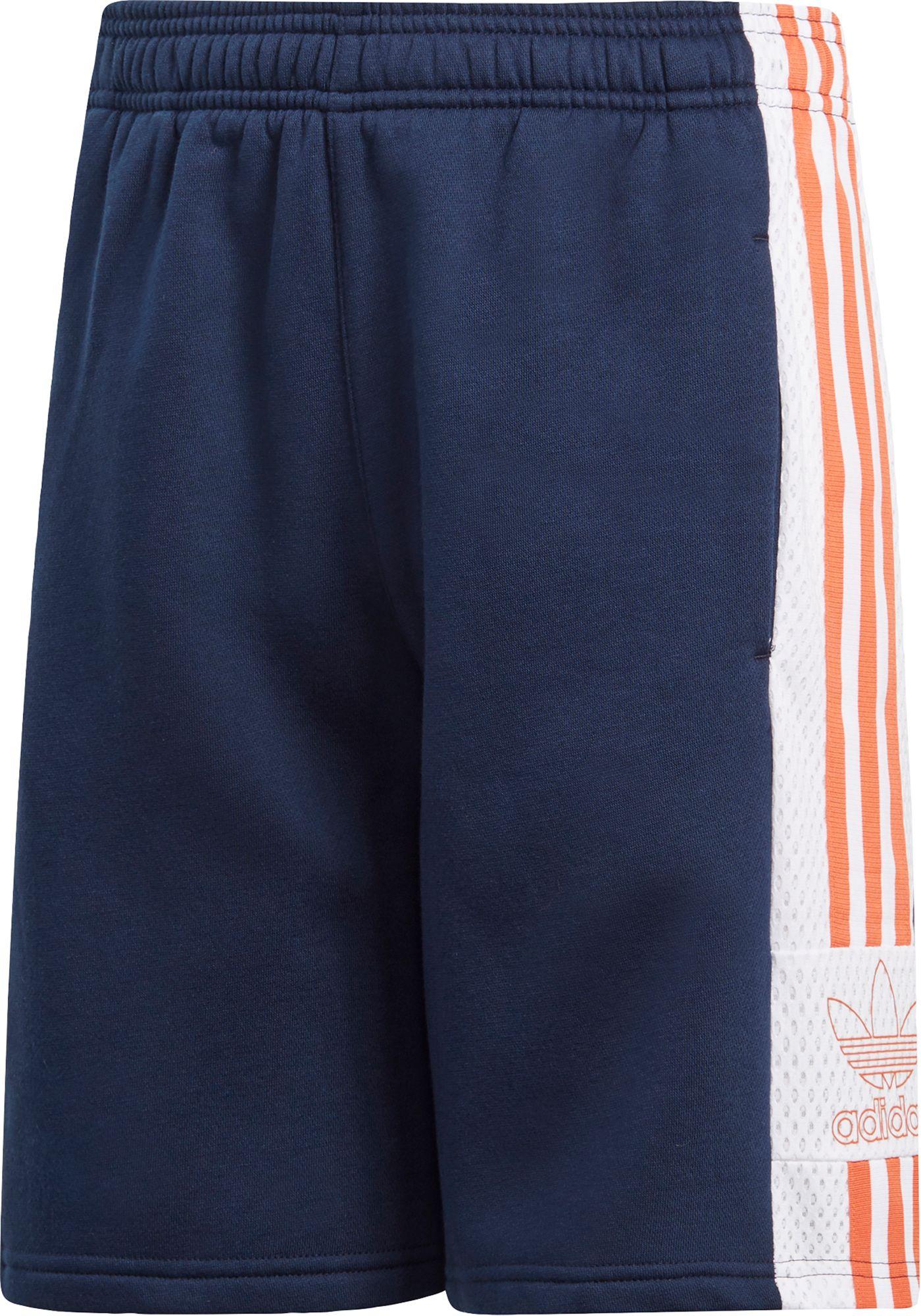adidas Originals Boys' Trefoil Outline Shorts