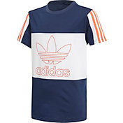 adidas Originals Boys' Trefoil Outline Graphic T-Shirt