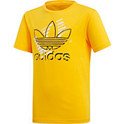 adidas Originals Boys' Trefoil Art Graphic T-Shirt