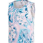 adidas Originals Girls' Marble Cropped Tank Top