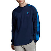 adidas Originals Men's 3-Stripes Long Sleeve Shirt