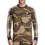 adidas Originals Men's Graphic Camouflage Long Sleeve Shirt
