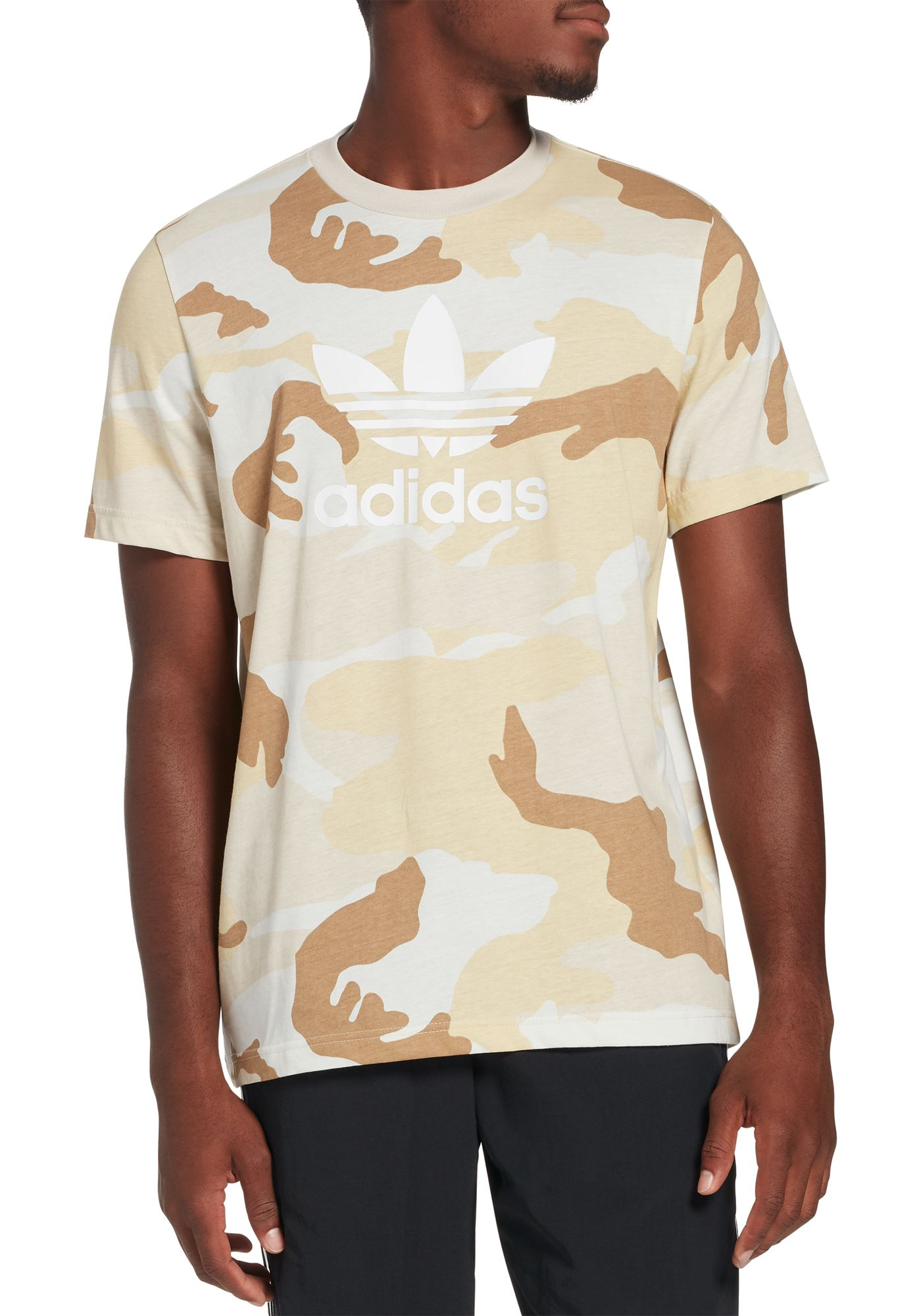 adidas Originals Men's Camo Trefoil T-Shirt