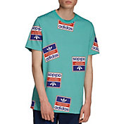 adidas Originals Men's Archive Sticker Graphic T-Shirt