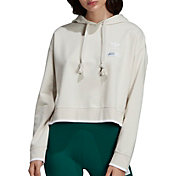 adidas Originals Women's Striped Out Crop Hoodie