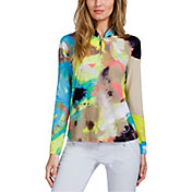 Jamie Sadock Women's Bouquet Sunsense Golf Pullover