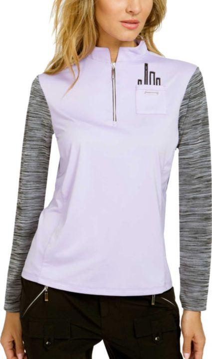 Jamie Sadock Women's ¼-Zip Long Sleeve Golf Top