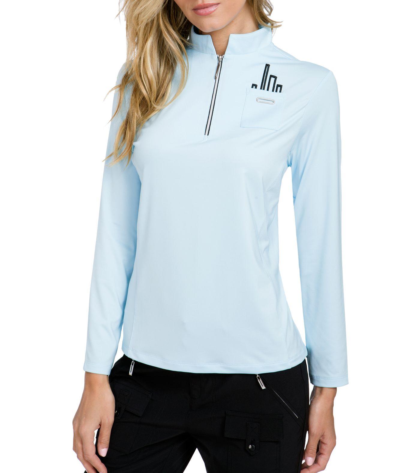 Jamie Sadock Women's ¼-Zip Long Sleeve Golf Top