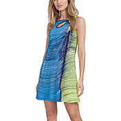 Jamie Sadock Women's Wave Print Sleeveless Golf Dress