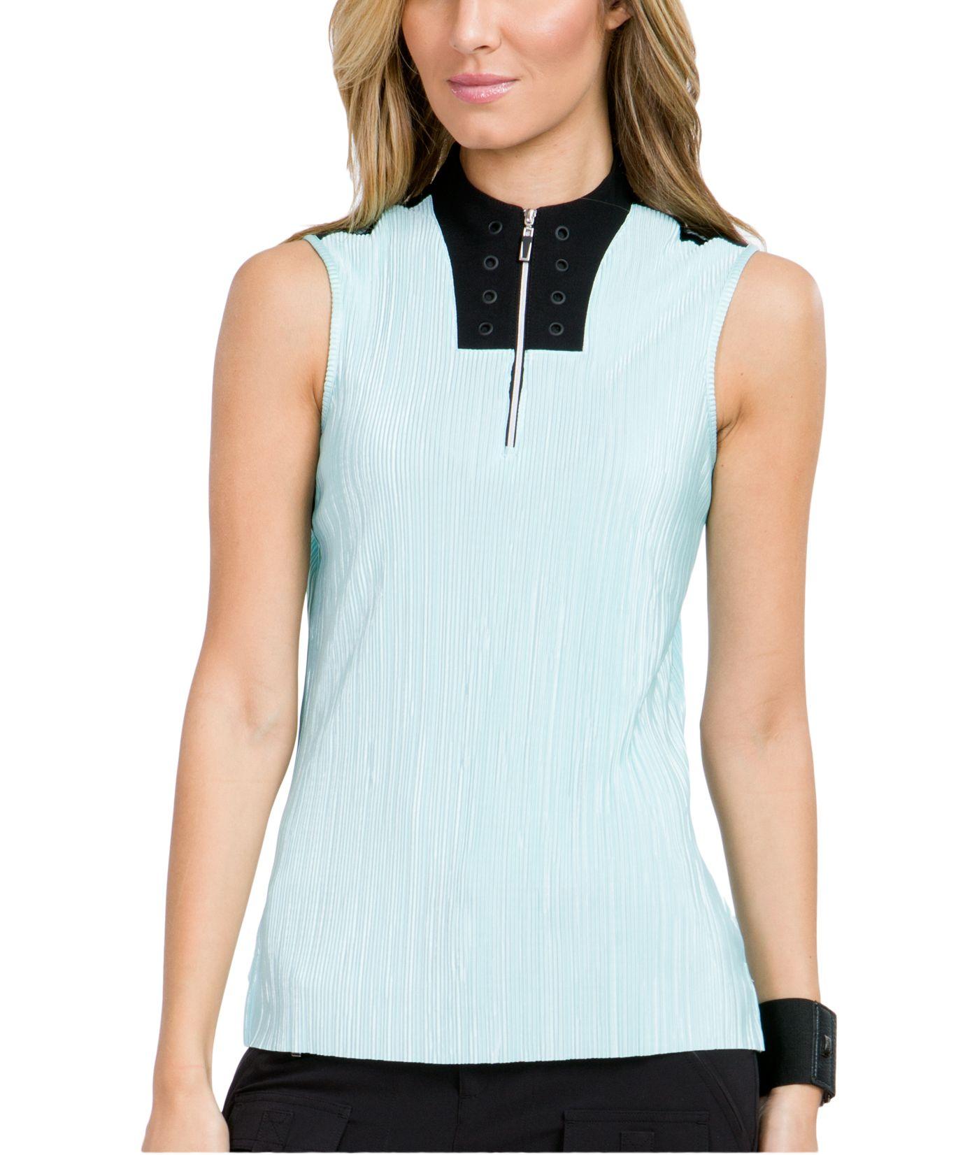 Jamie Sadock Women's Color Blocked Sleeveless Golf Top