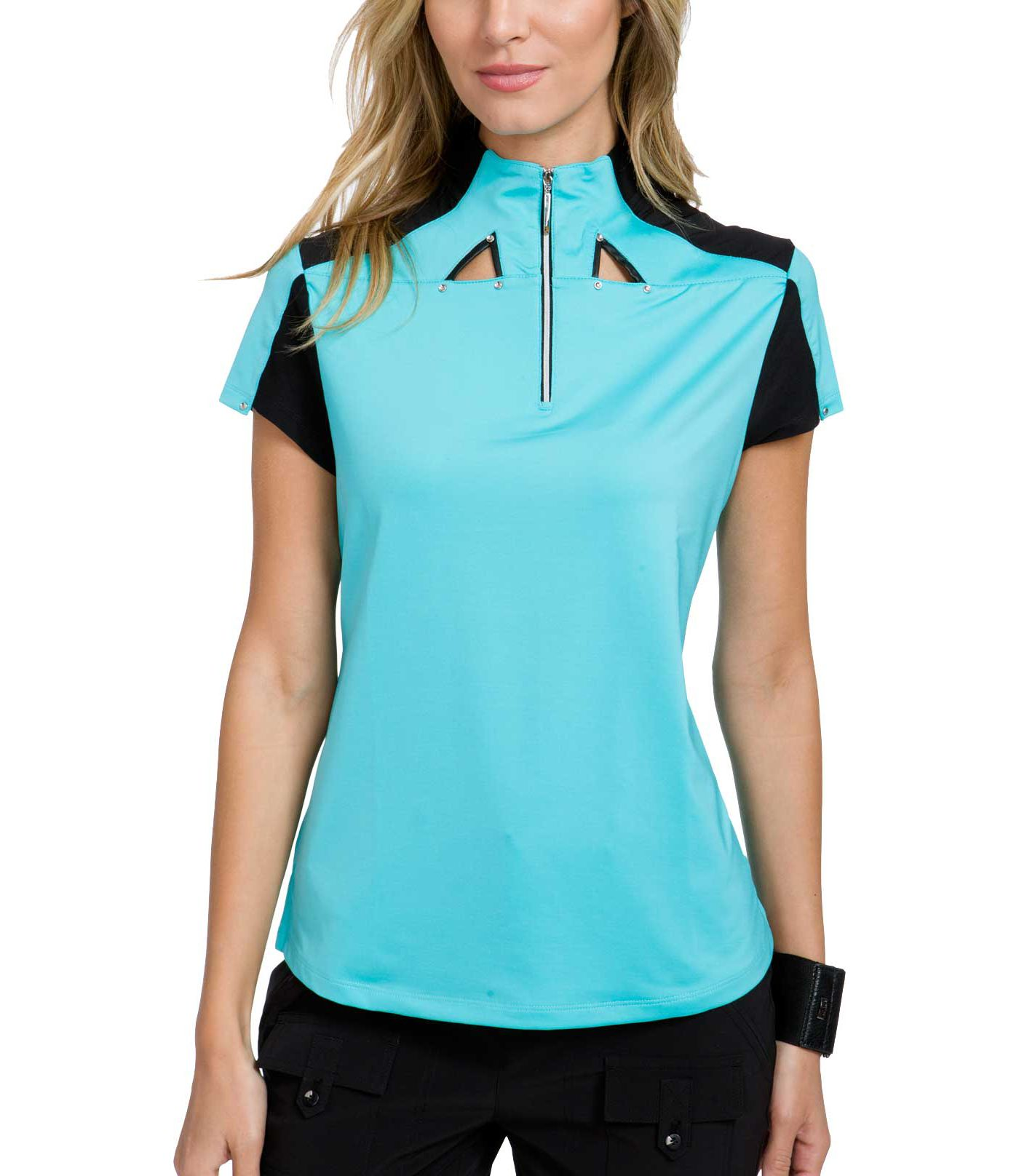 Jamie Sadock Women's Color Block ¼-Zip Golf Top
